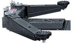 Zapustený dvojstĺpový piestový zdvihák s ramenami SDI 110K