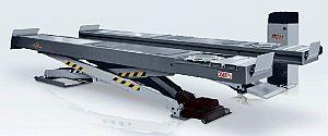 Nožnicový zdvihák elektrohydraulický SF6402 na meranie geometrie od talianskeho výrobcu Space